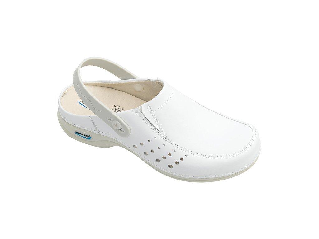 697 2 berlim pracovni kozena pratelna obuv s certifikaci unisex s paskem bila wg4ap10 nursing care 3