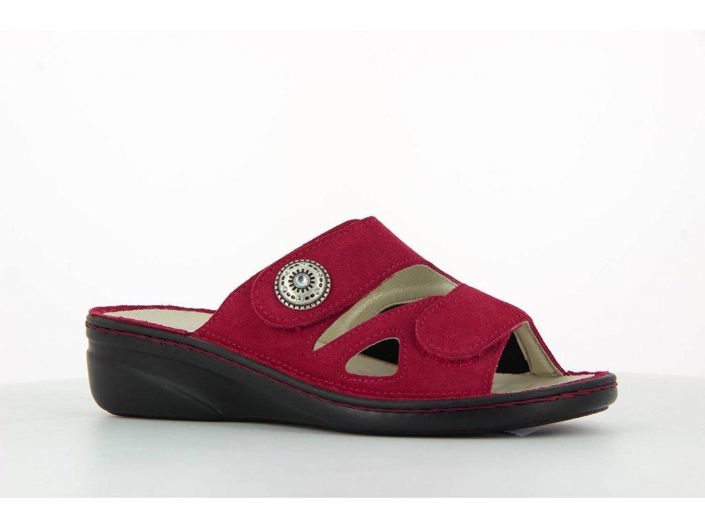 Terapeutická obuv Varomed Maria - červená