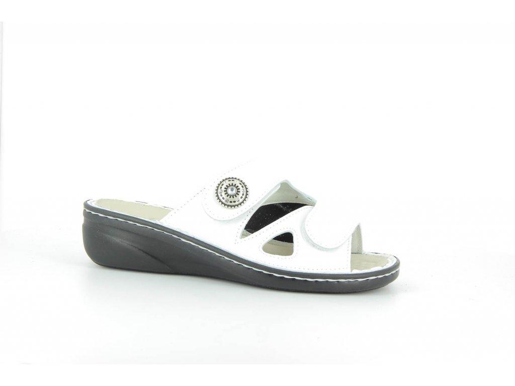Terapeutická obuv Varomed Maria - bílá