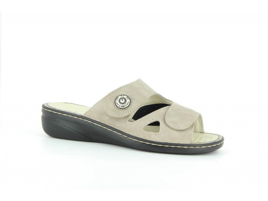 Terapeutická obuv Varomed Maria - šedá křemičitá