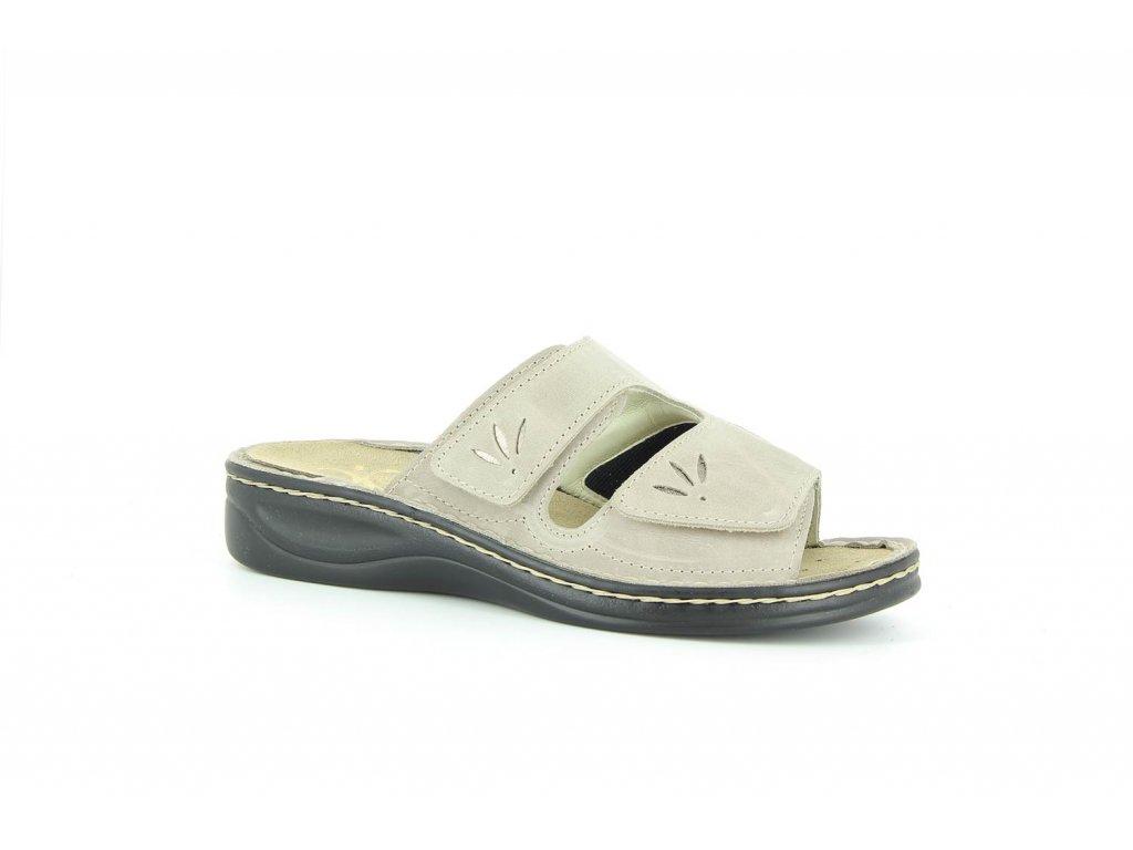 Terapeutická obuv Varomed Mia - šedá křemičitá