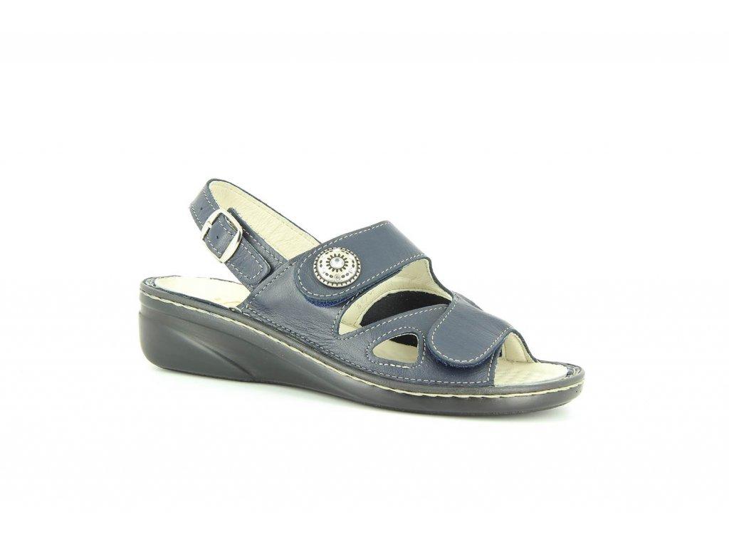 Terapeutická obuv Varomed Isabelle - námořnická modř