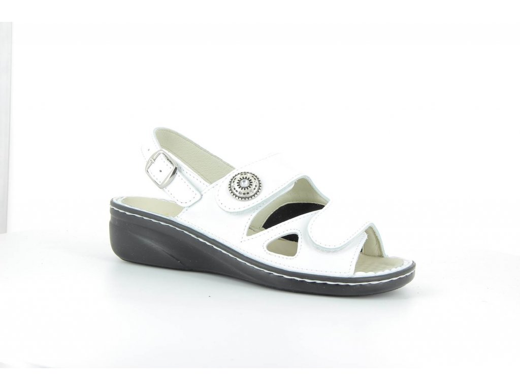 Terapeutická obuv Varomed Isabelle - bílá