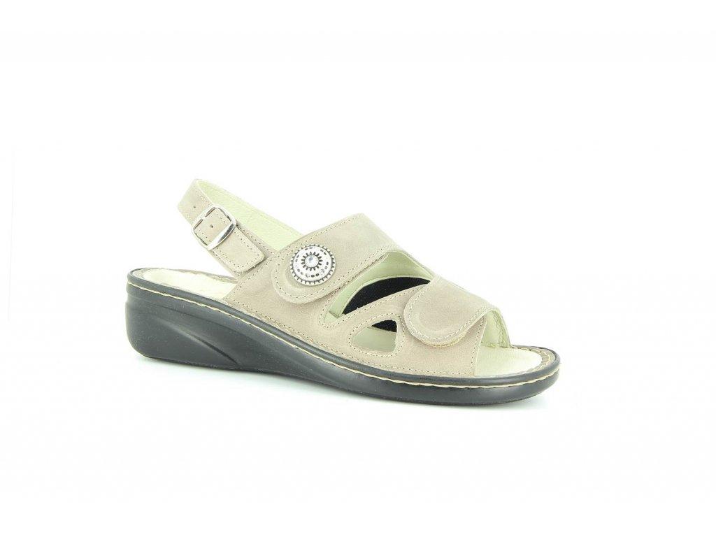 Terapeutická obuv Varomed Isabelle - šedá křemičitá