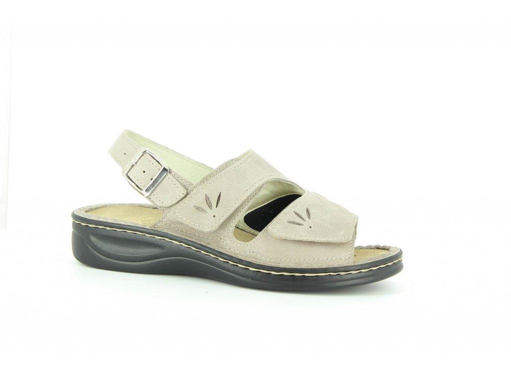 Terapeutická obuv Varomed Yvonne - šedá křemičitá