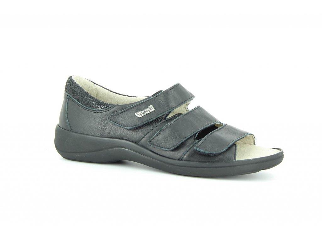 Terapeutická obuv Varomed Moskau - černá