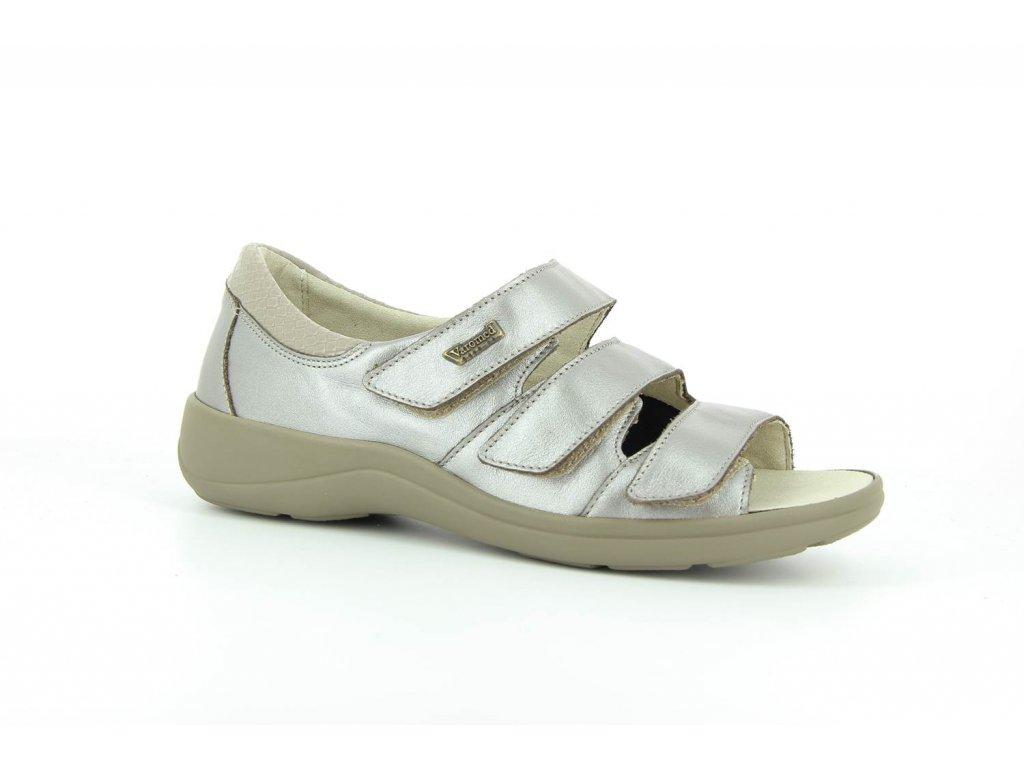 Terapeutická obuv Varomed Moskau - bronzová