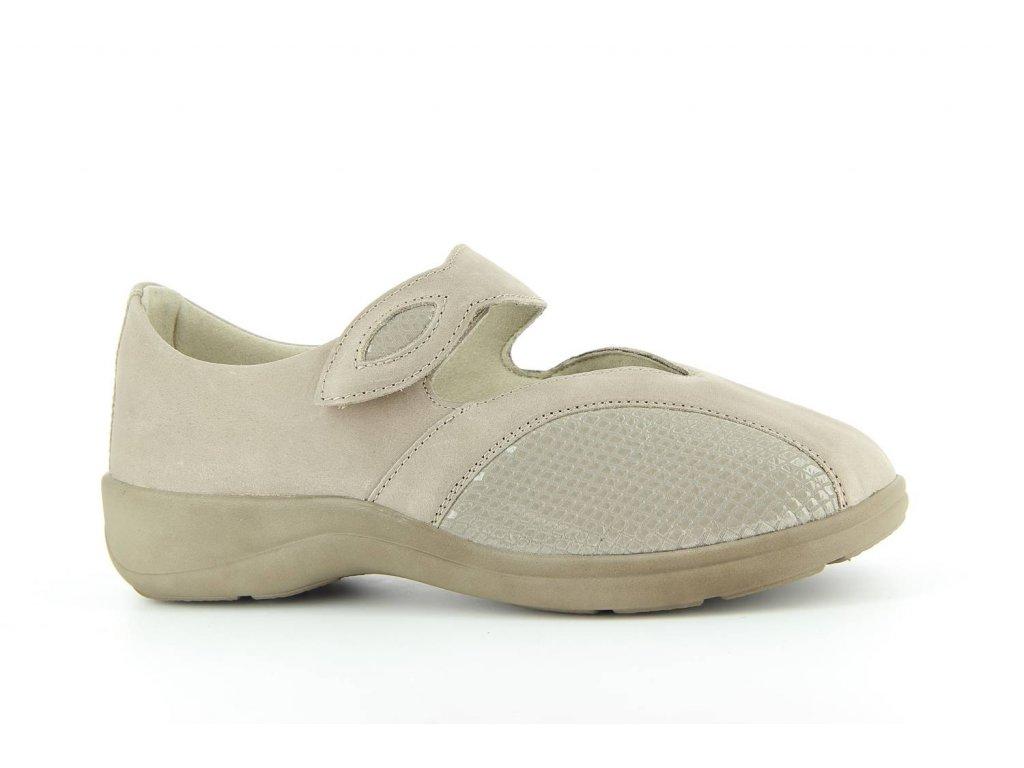Terapeutická obuv Varomed Siena - šedá křemičitá
