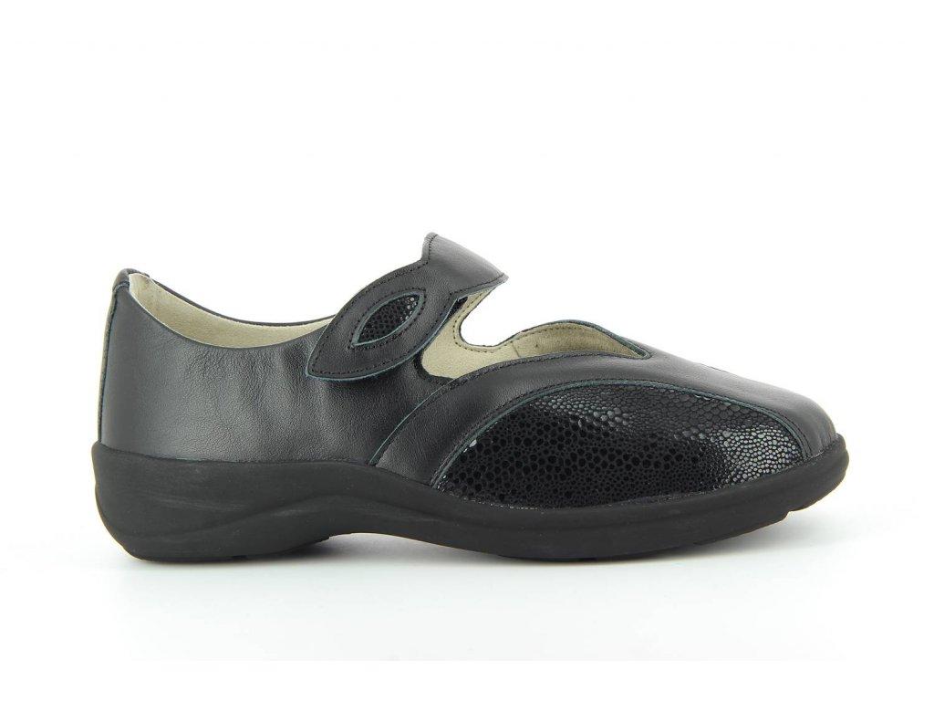 Terapeutická obuv Varomed Siena - černá