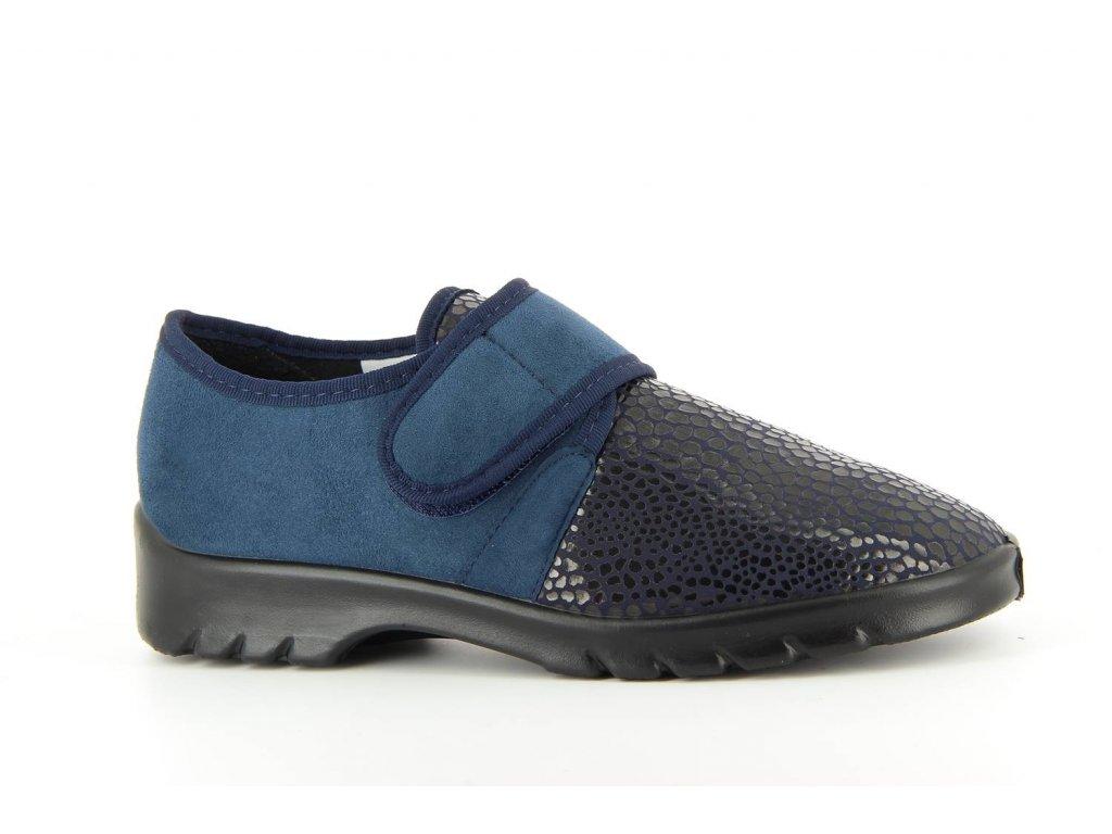Terapeutická obuv Varomed Strasbourg - námořnická modř