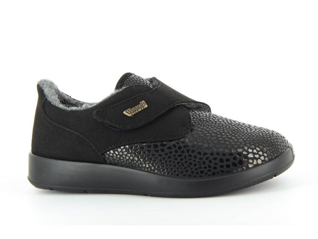 Terapeutická obuv Varomed Zürich - černá - zimní