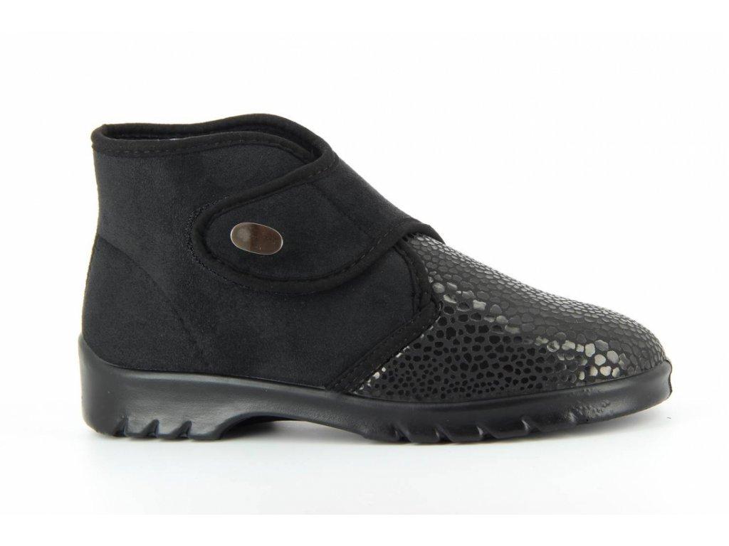 Terapeutická obuv Varomed Helsinki - černá