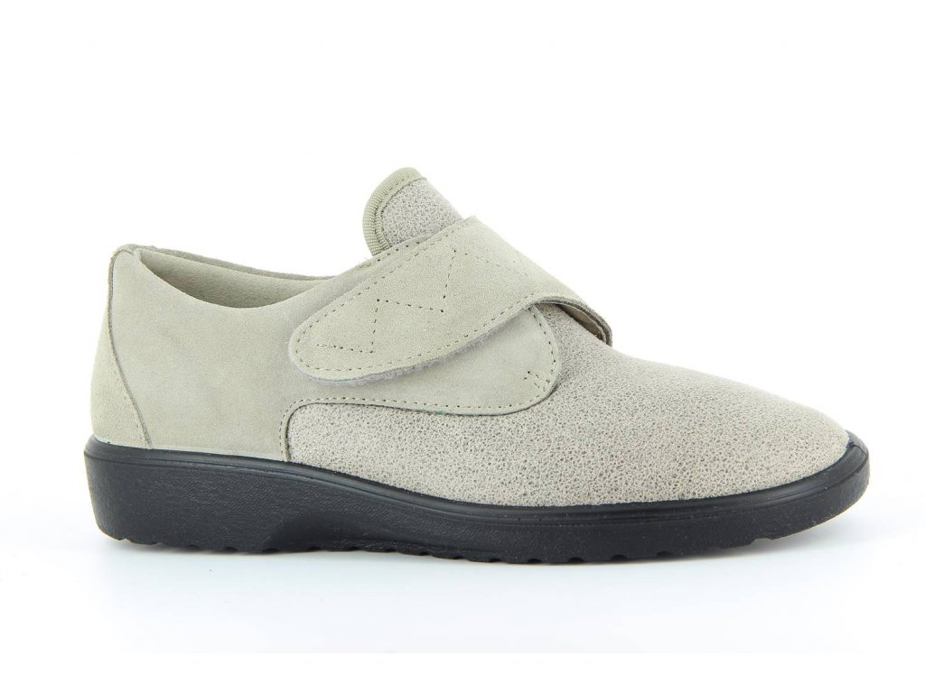 Terapeutická obuv Varomed Palma - šedá křemičitá