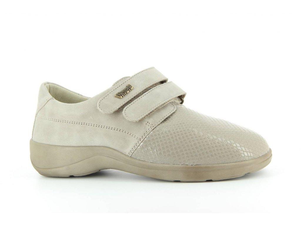 Terapeutická obuv Varomed Budapešť - šedá křemičitá