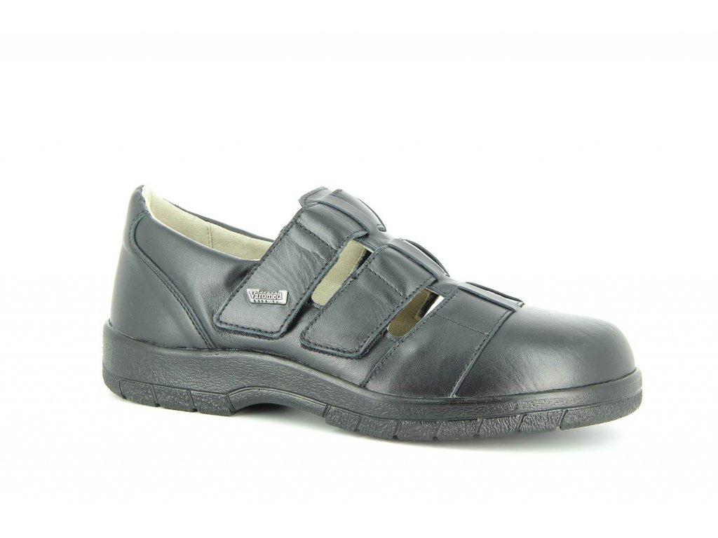 Terapeutická obuv Varomed Kapstadt - černá