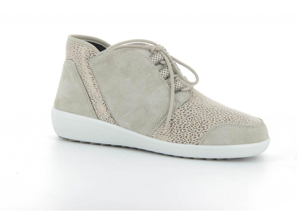 Terapeutická obuv Varomed Perpignan - šedá křemičitá