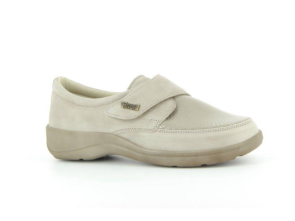 Terapeutická obuv Varomed Tallinn - šedá křemičitá