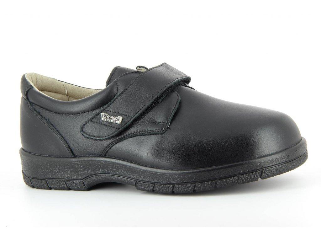 Terapeutická obuv Varomed Montreal - černá (šíře R)
