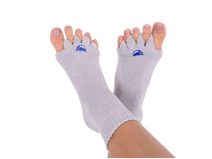 Adjustační ponožky GREY