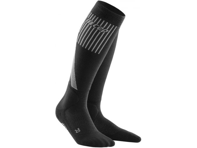 1280x1280 Winter Run Socks rose black WP401U w front 2