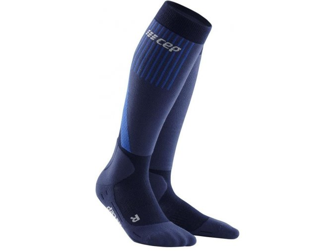 1280x1280 Winter Run Socks green black WP50MU m WP40MU w front 2