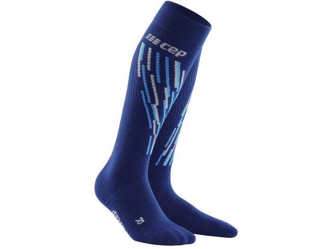 1280x1280 CEP ski thermo socks blueazur WP5312 m WP4312 w pair