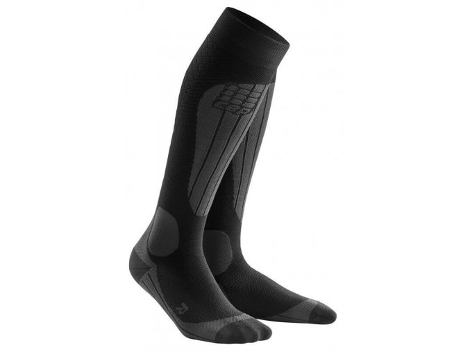 1280x1280 Ski Thermo Socks black anthracite WP53V2 m WP43V2 w pair