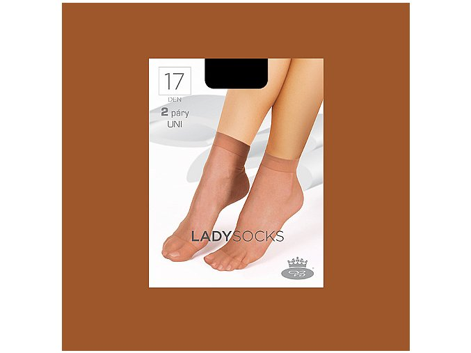 Lady socks opal web