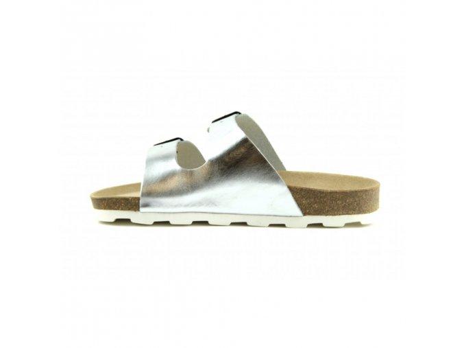 zdravotni boty pantofle 2002 m2 silver vel 41