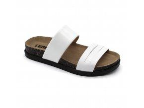 Leons Lana dámské pantofle - Bílá