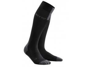 1280x1280 Run Compression Socks 3.0 black dark grey WP50VX m WP40VX w pair front