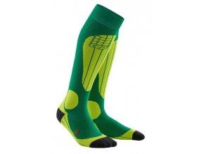 1280x1280 CEP ski thermo socks forestlightgreen WP53J2 m WP43J2 w pair