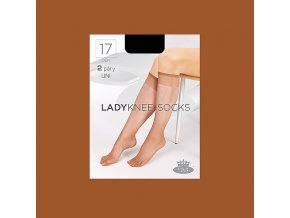 Lady knee socks opal web