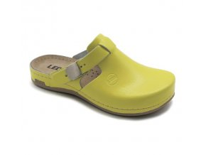 Leons Crura dámské zdravotní pantofle - Žlutá