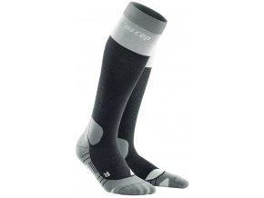 1280x1280 Hiking Light Merino Socks stonegrey grey WP20A5 WP30A5 front 2
