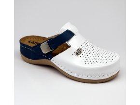 Leons Bella dámské zdravotní pantofle - Modrá