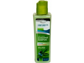 TOPVET Wellness konopný šampon 250ml