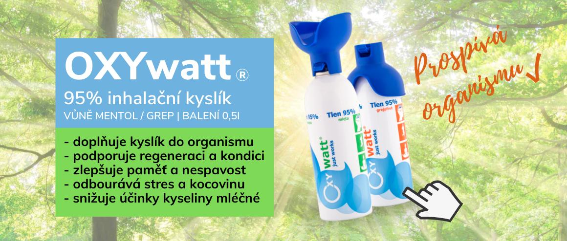 OXYwatt® inhalační kyslík