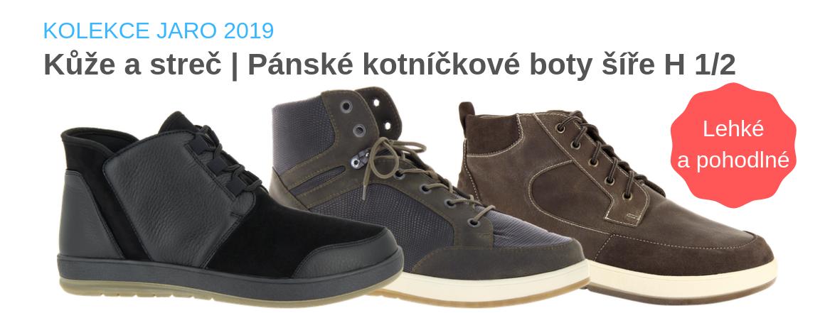 Pánské kotníčkové boty