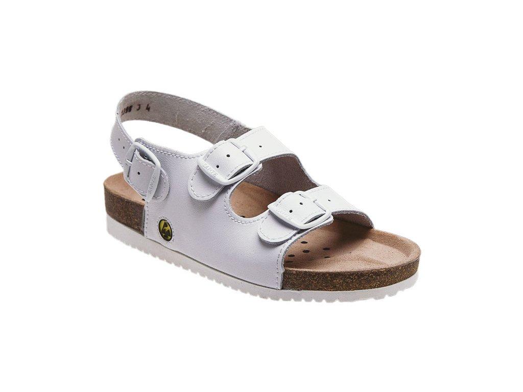 579a6af5118b Santé zdravotní obuv N 32 10 E pánská bílá - Medicia