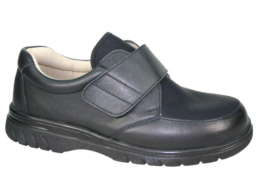 Pánské polobotky pro široké nohy Varomed Tirana 78100 - Medicia 252e3e0096