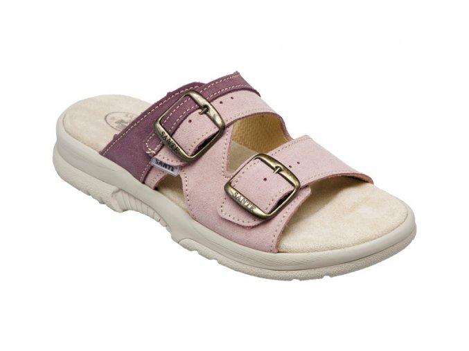 Santé zdravotní obuv N/517/51/48/57/SP dámská starorůžová