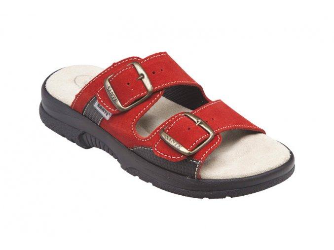 Santé zdravotní obuv N/517/33/38/CP dámská červená