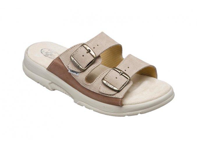 Santé zdravotní obuv N/517/36/28/47/SP pánská béžová