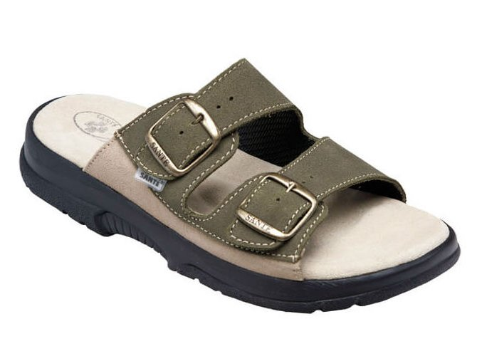 Santé zdravotní obuv N:517:36:98:28:CP pánská khaki