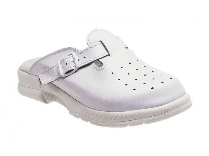 Santé zdravotní obuv N/517/38/10 pánská bílá