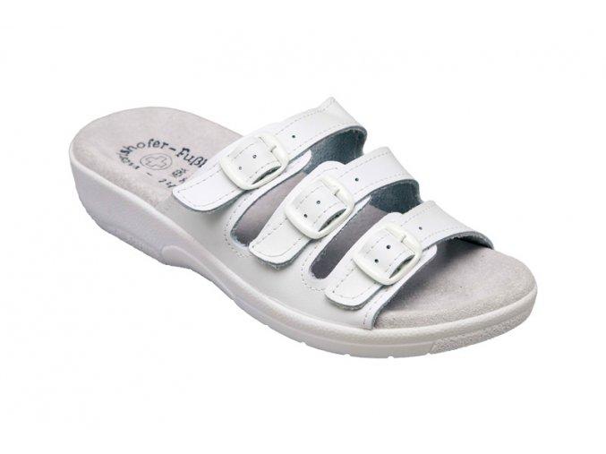 Santé zdravotní obuv SI/03D3 dámská bílá
