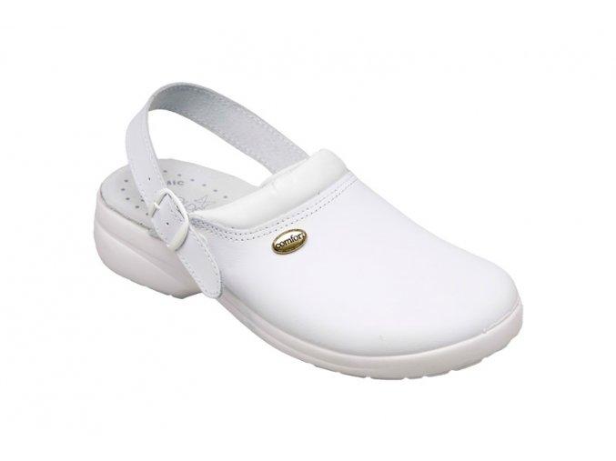 Santé zdravotní obuv GF/516 pánská bílá