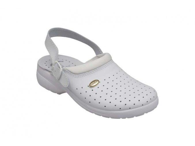 Santé zdravotní obuv GF/516P dámská bílá