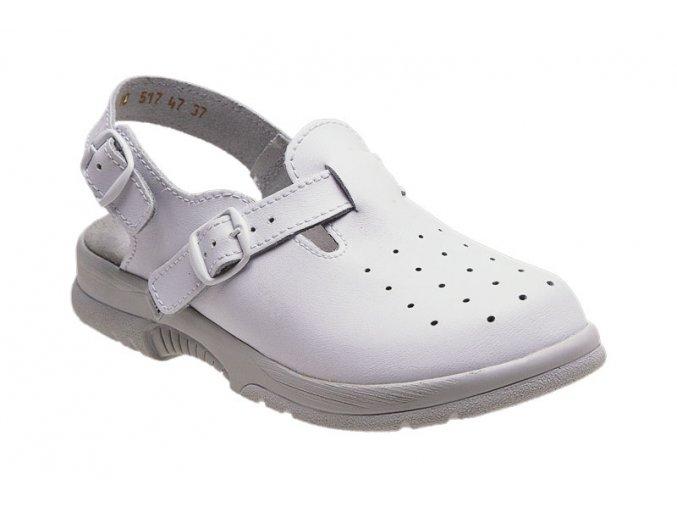 Santé zdravotní obuv N/517/48/10 pánská bílá